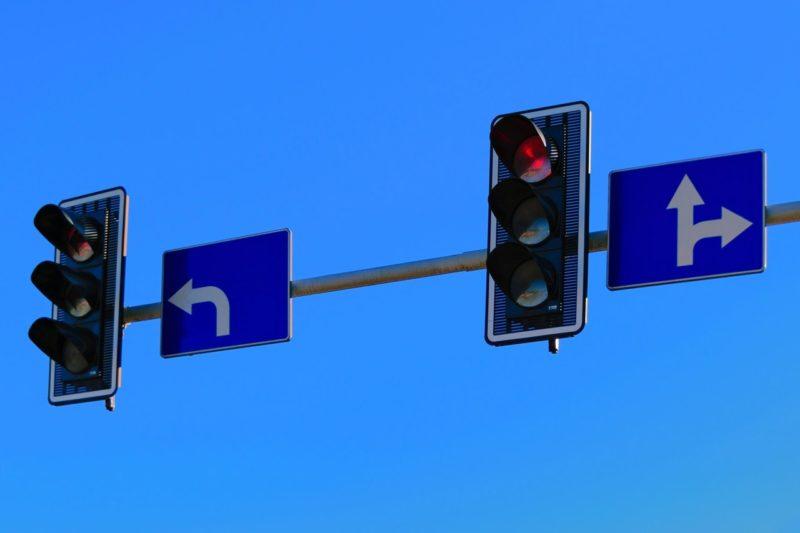 rote ampel fahren lernen