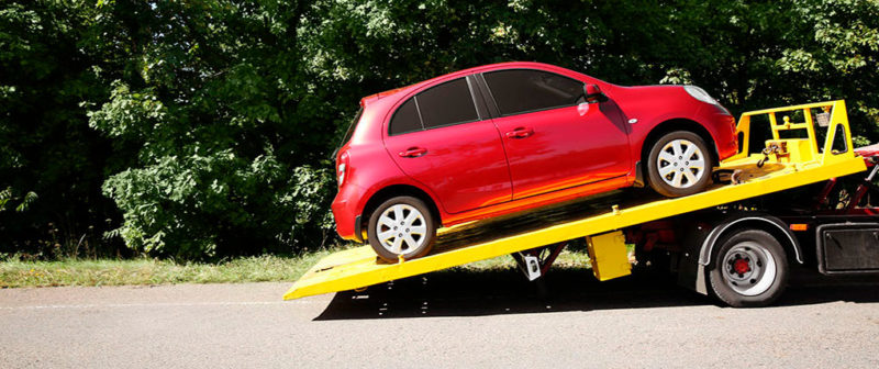 Wie schleppt man ein Auto richtig ab?