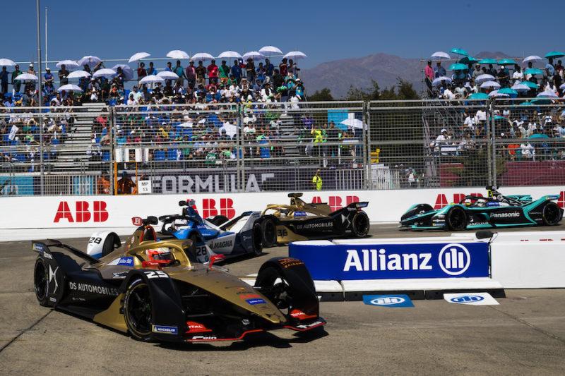 Formel E Rennprogramm für die Jahre 2019/2020