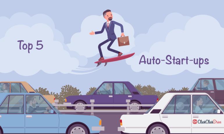 Top 5 der interessantesten Auto-Start-ups