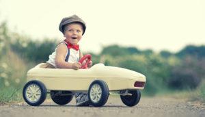 Wie befördere ich Kinder im Auto?