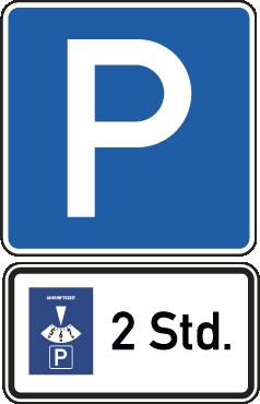 Eingeschränktes Parken