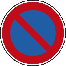 Parkverbotsschild