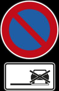 Parkverbot auf dem Seitenstreifen