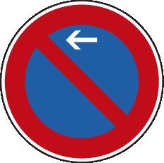 Parkverbot Beginn rechts