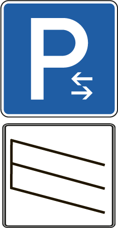 Schrägparken