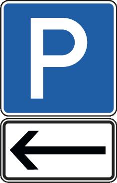Anfahrt zu Parkplätzen 1