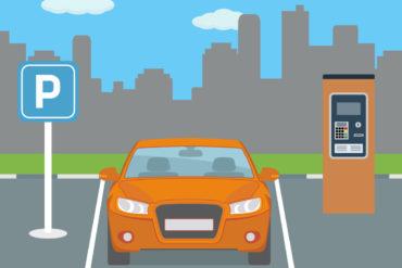 Mit dem Auto längs und senkrecht parken