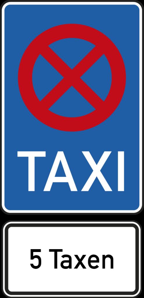 Taxistandschild
