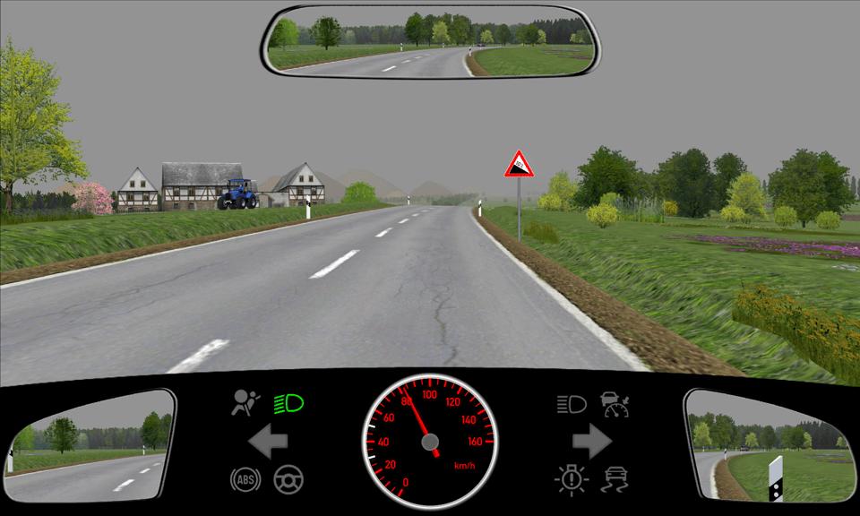 Geschwindigkeitsvorgaben auf Land- und Bundesstraßen