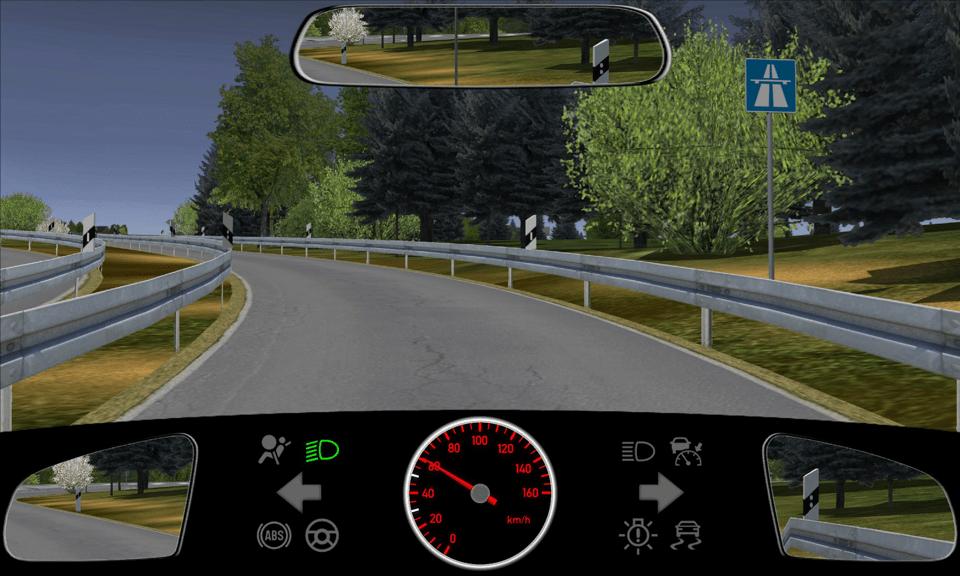 Geschwindigkeit auf Autobahnen