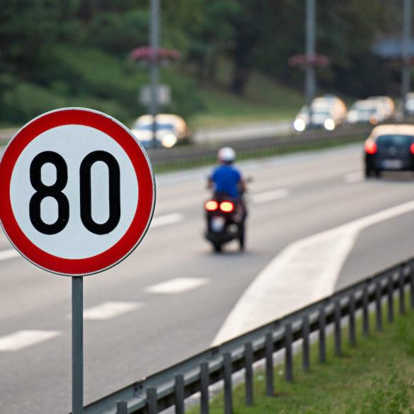 Fahrgeschwindigkeit