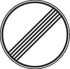 Ende sämtlicher Streckenverbote